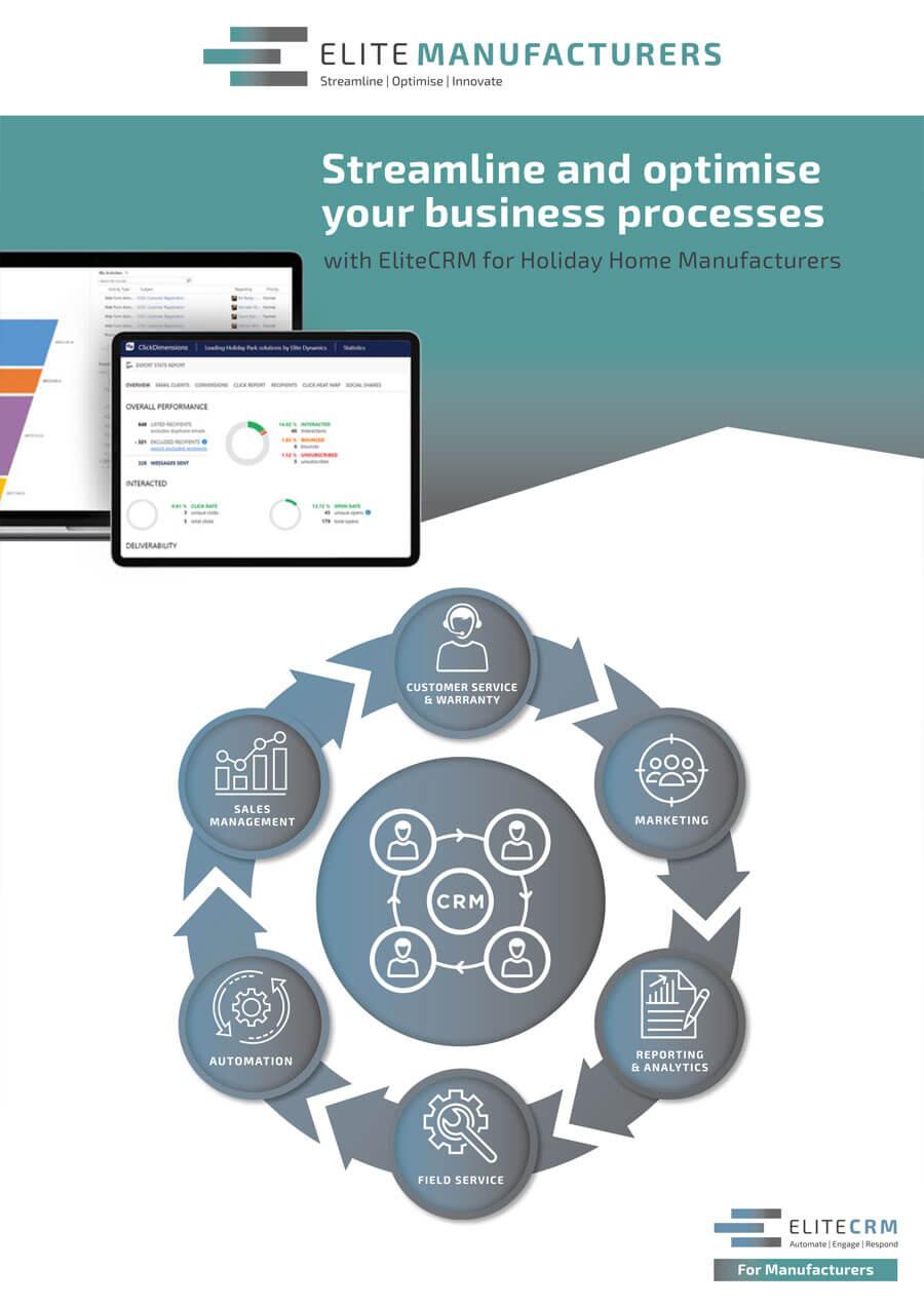EliteCRM for Manufacturers Brochure