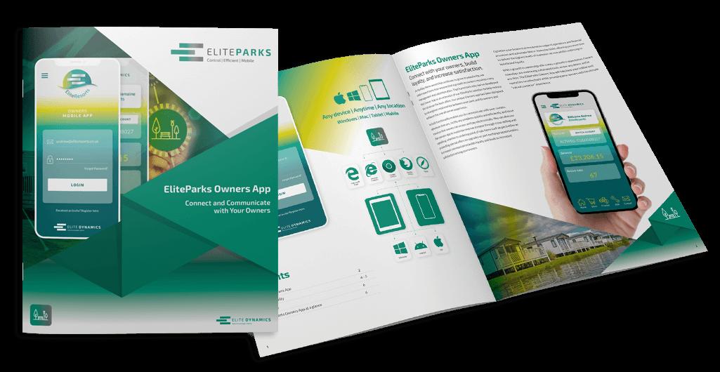 EliteParks Owners App Brochure